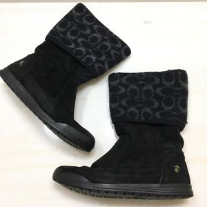 Coach   Suede Boots 7